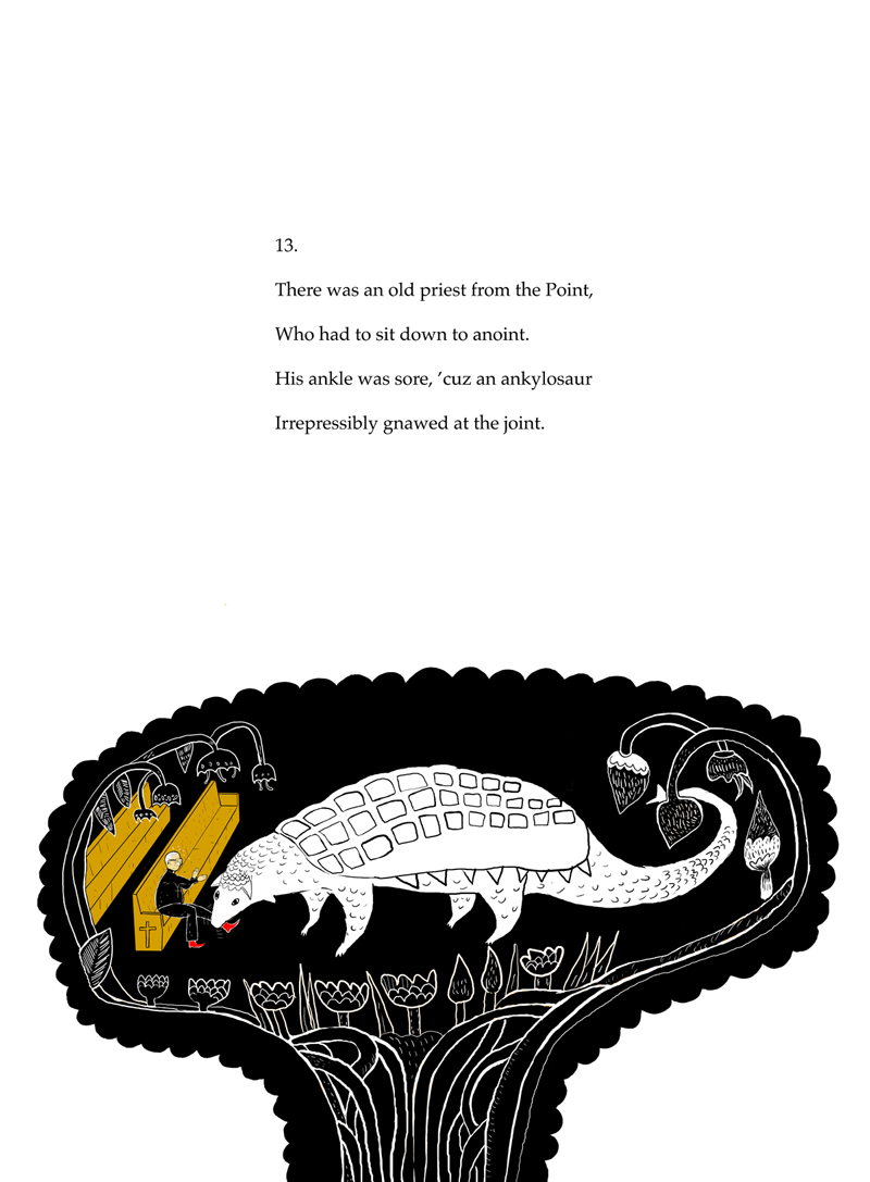 Limerick No. 13 (2013) Poem by Anthony Madrid. Illustration by Mark Fletcher