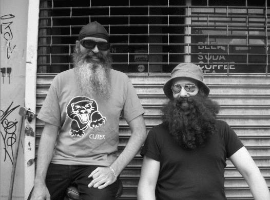 Rafael Sánchez and Jim Fletcher in 2008. Photo by Shana Fletcher.