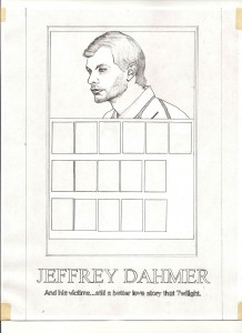 Dahmer, 2014, graphite on paper