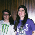 Jacob Ciocci (left) and David Wightman of Extreme Animals