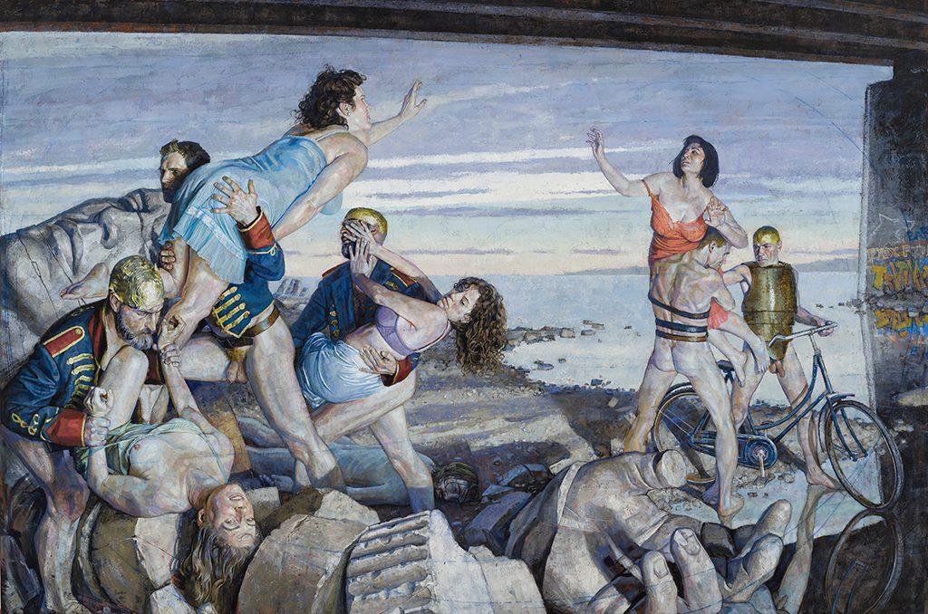 Rape of the Sabines, 2016