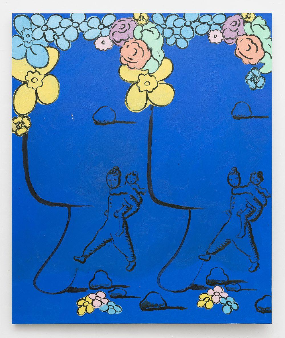 """L'Heure Bleu, oil on canvas, 60"""" x 72"""""""