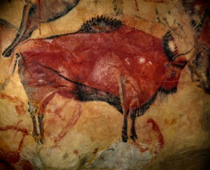 Great Red Bison of Altamira; 15,500 BCE to 13,500 BCE